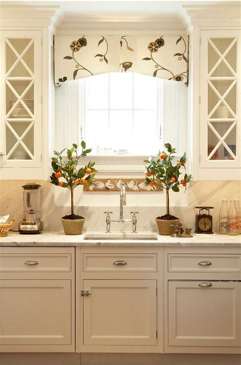 Kitchen Curtain Valance Best 25 Kitchen Window Treatments Ideas On Kitchen Window Treatments With Blinds