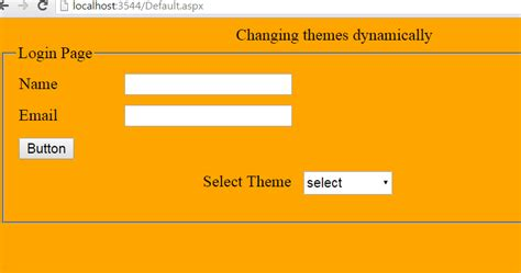 changing themes dynamically in asp net how to change themes dynamically in asp net