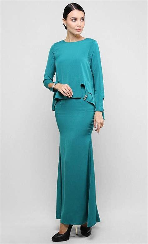 Pakaian Murah Batik Set Peplum Arabella Blue Model Terbaru Hitz 211 best images about fashion baju kurung on