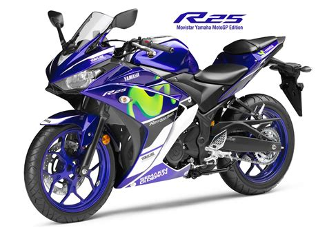 Yamaha R25 Movistar Tahun 2016 2015 new yamaha yzf r25 movistar motogp edition