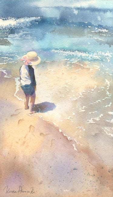watercolor tutorial beach 4377 best images about art watercolor on pinterest