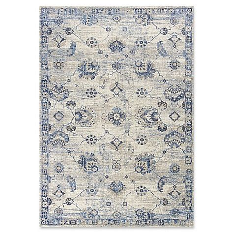 9 foot area rugs buy kas seville sutton 9 foot x 13 foot area rug in grey blue from bed bath beyond