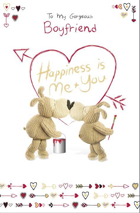 Valentines Day Card For Boyfriend
