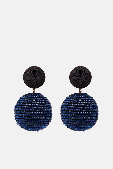 les bonbons two earrings black navy the line