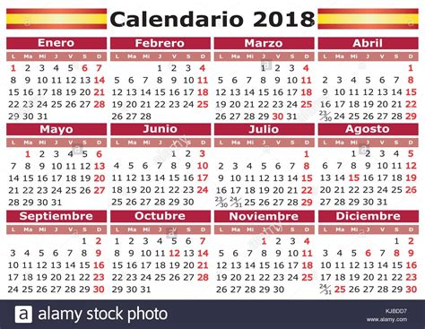 Calendario 2018 Italia Calendario 2018 Calendar With Festive Days Pocket