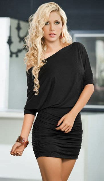 black never goes wrong never go wrong with little black dress try this look 49