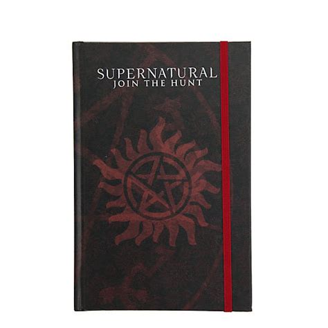 supernatural join the hunt notebook collection set of 2 books supernatural bandana throw blanket fandom gifts
