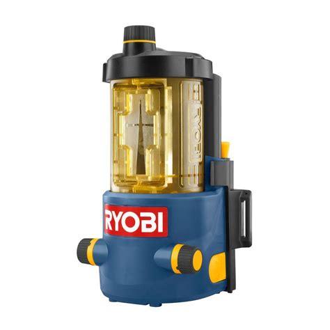 ryobi airgrip pro cross laser level ell0006 the home depot