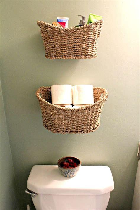 ideas  basket bathroom storage  pinterest bathroom accessories bathroom storage