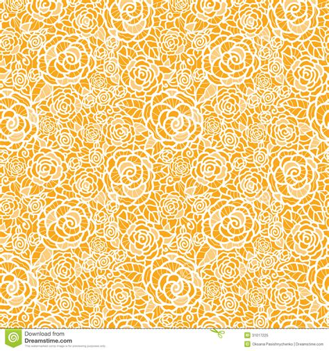 golden svg pattern background golden lace roses seamless pattern background stock vector