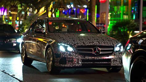 Mercedes In Las Vegas by The New E Class In Las Vegas Mercedes Original