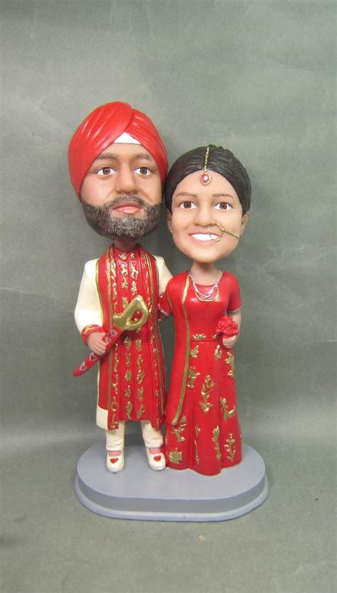personalized bobblehead doll india wedding gift
