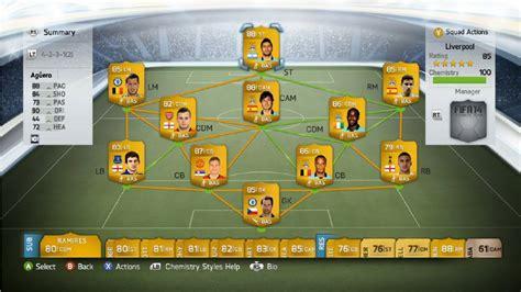 best fifa 14 ultimate team team of the season barclays premier league bpl fifa 14