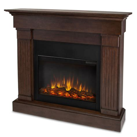Elctric Fireplaces by Real 8020e Slim Electric Fireplace Lowe S