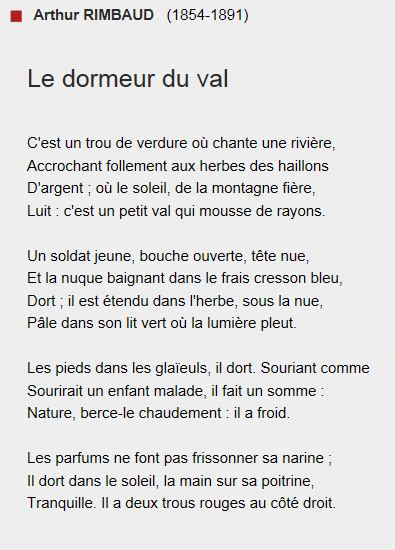 armance et le dormeur du val stendhal poets and