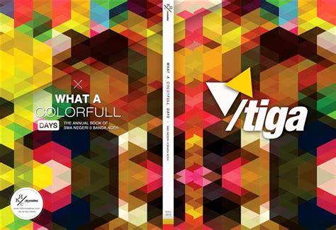 design cover buku keren design concept buku tahunan sekolah yearbook