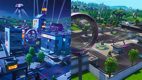 heres  tilted towers  retail row