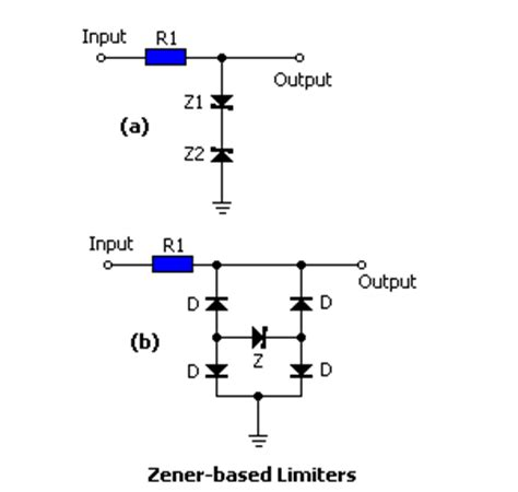 diode circuit limiter diode limiter circuit 28 images power supply current limiters using transistors and diodes