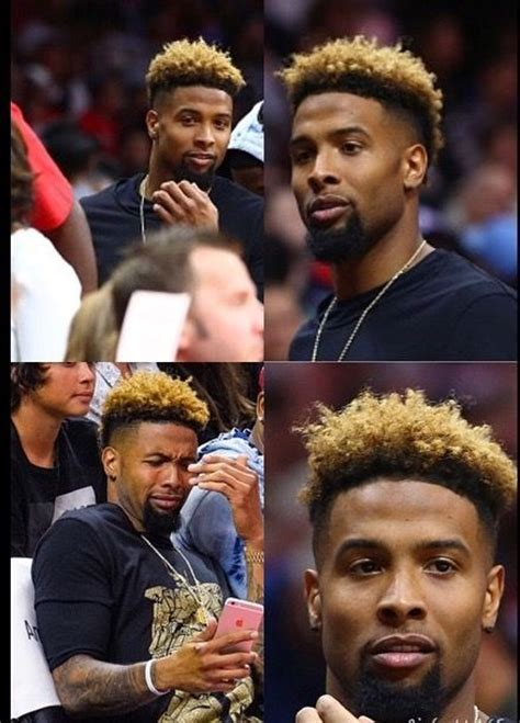 what type of haircut does odell beckham have odell beckham hairstyle 2016 men s hairstyles club