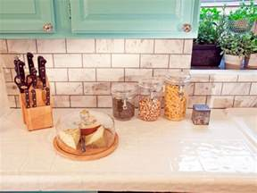 Clear Glass Canisters For Kitchen tile kitchen countertops pictures amp ideas from hgtv hgtv