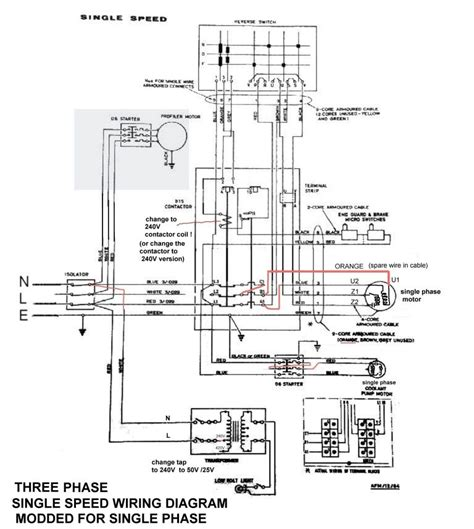 wiring diagram for single phase lathe motor 28 images