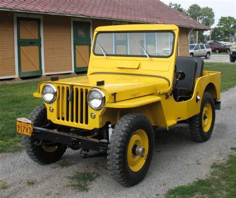 1951 Jeep Willys 1951 Willys Cj 3a Jeep Restoration Best Of Show