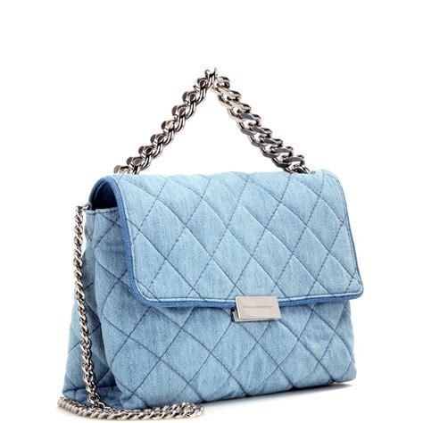 Stella Mccartney Bag stella mccartney soft beckett quilted denim shoulder bag