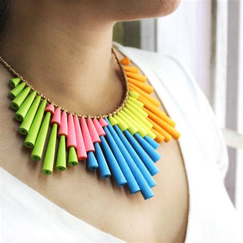 How To Make A Paper Necklace - jewelry trends top 12 of 2012 rings and things