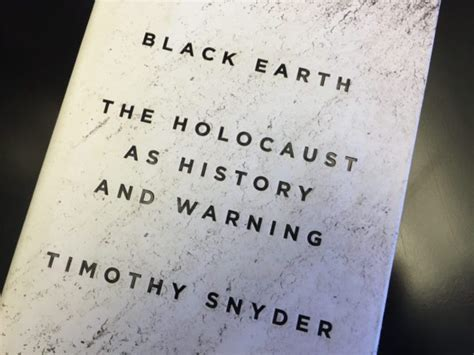 libro black earth the holocaust review black earth the holocaust as history and warning