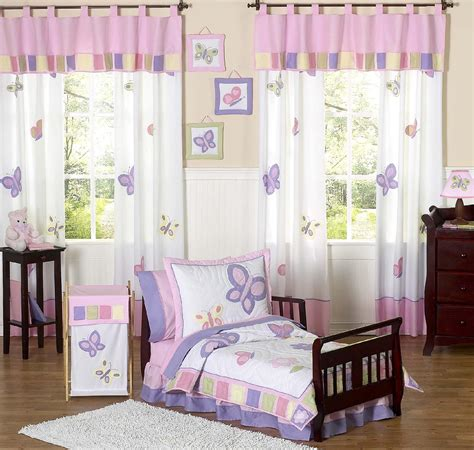 Sweet Jojo Designs Butterfly Pink And Purple Collection Pink And Purple Crib Bedding