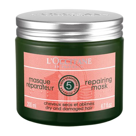 L Occitane Repairing Mask 200ml l occitane repairing mask for damaged hair 200ml