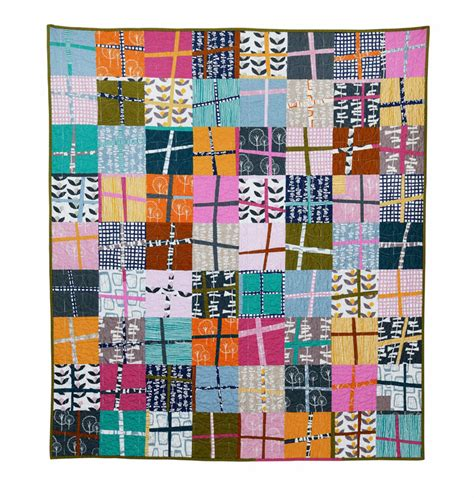 Cross Quilt Patterns by Fitf Glimma Cross Quilt In The Fridge