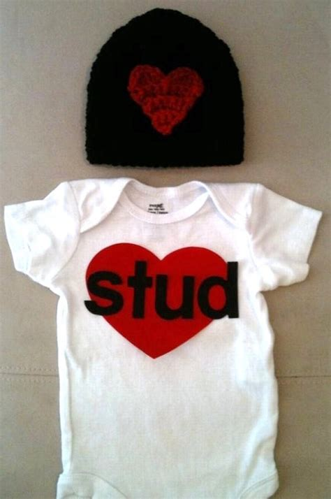 valentines day for baby boy s day for baby boys stud onesie by