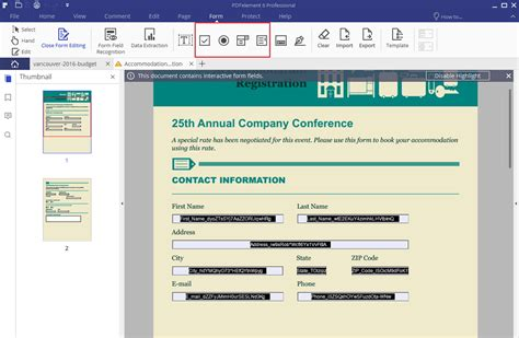 pdf template creator how to create a pdf form in windows
