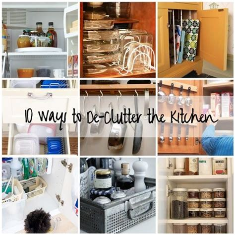 how to declutter kitchen organize your kitchen storage organization pinterest