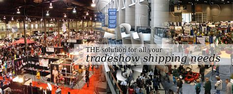 trade show shipping tradeshow logistics freight xposolutions