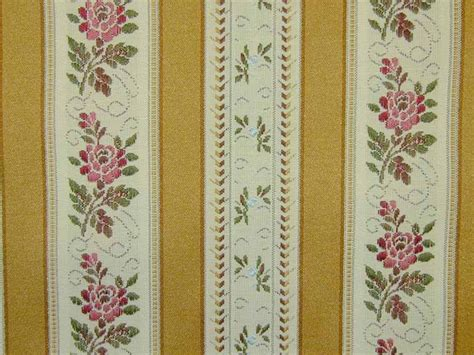 Price Blinds Curtain Fabric Upholstery Fabric Regency Stripe Gold