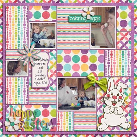 scrapbook layout easter easter scrapbook page layout pictures scrapbook