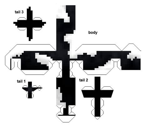 Papercraft Black And White - 146 best images about minecraft decorations on