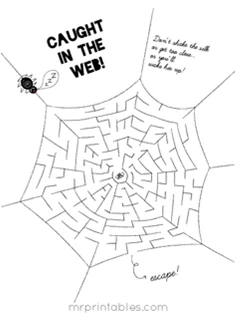 printable mazes mr printables