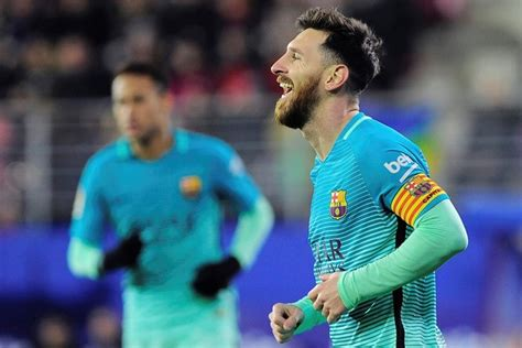 lionel messi biography in spanish messi scores 5th goal in 6 games as barcelona beats eibar