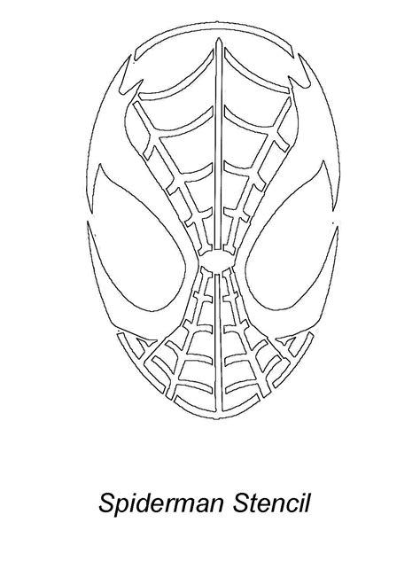spider man carving pattern stencil requests for july 2007