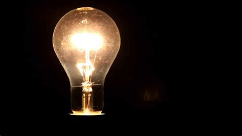 light bulb electric light electric l youtube