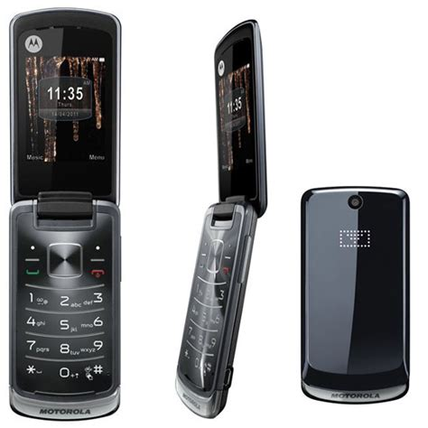 Hp Motorola Gleam Plus telephone a clapet motorola gleam