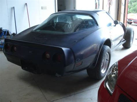 sell   corvette project car  factory  speed