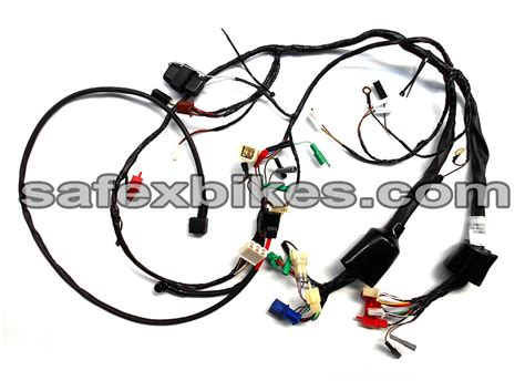 wiring diagram for motorcycle electric starter for