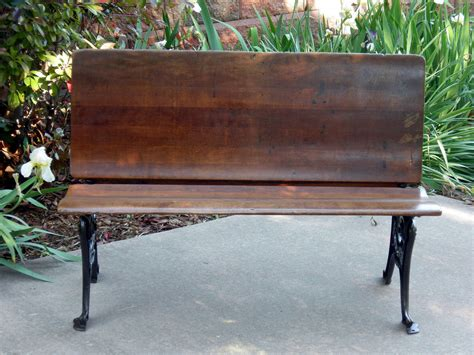 antique school bench antique school house desk room for 2 folding bench wood and