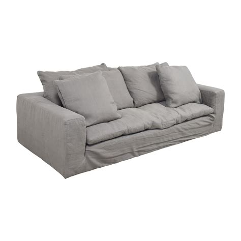 restoration hardware sofa for sale 82 off restoration hardware restoration hardware grey