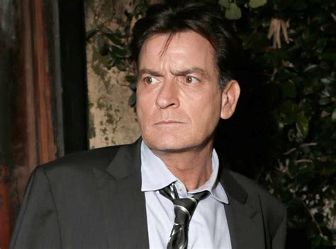 Charlie Sheen by Charlie Sheen Lied About Being Suicidal Celebrity Insider