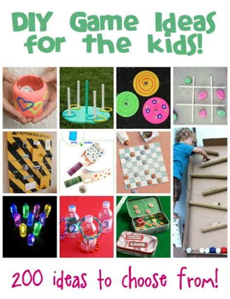 diy games homemade games ideas for kids fun family crafts